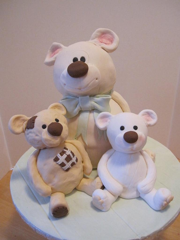 Baby Shower Cake by Alexandra