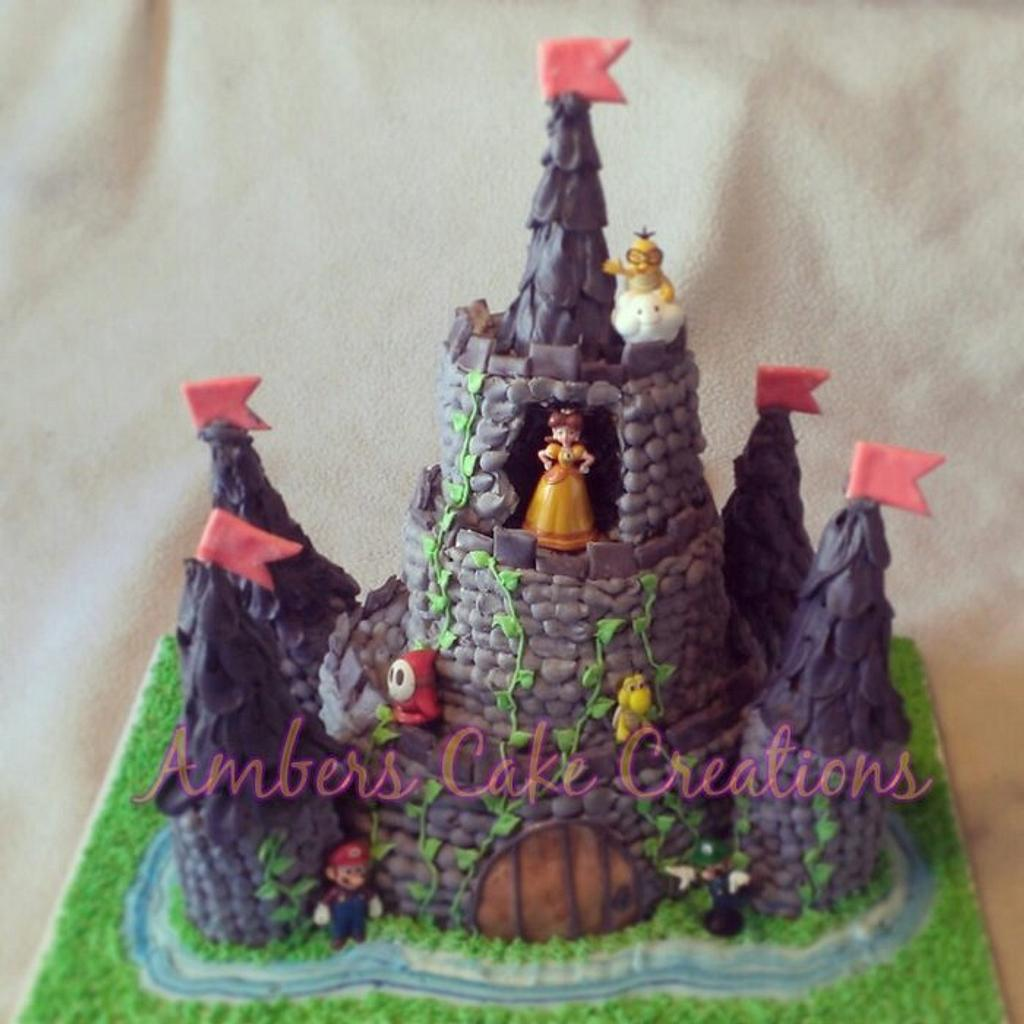 super mario castle! by amber hawkes