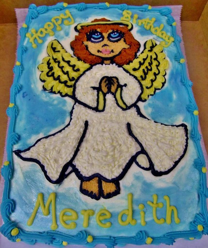 Angel cake by Nancys Fancys Cakes & Catering (Nancy Goolsby)