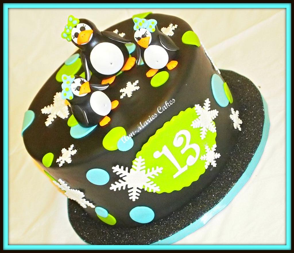 Penguin Birthday by Ann-Marie Youngblood
