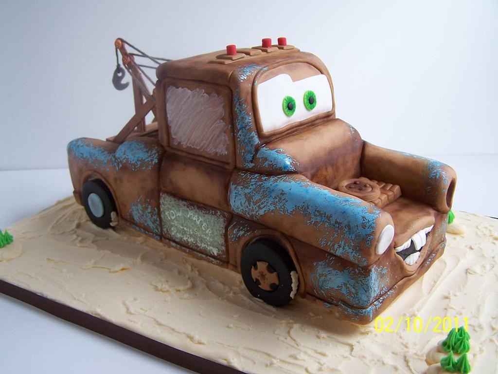 Tow Mater by Tea Party Cakes