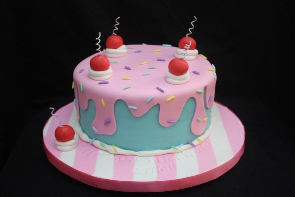 birthday cake by Virginia