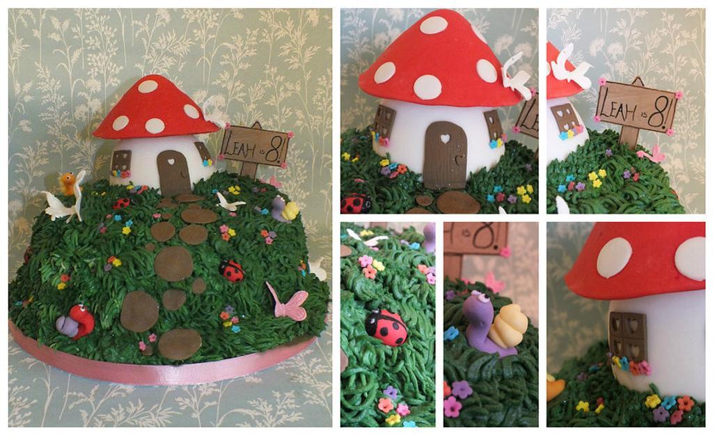 fairy house cake by jennie