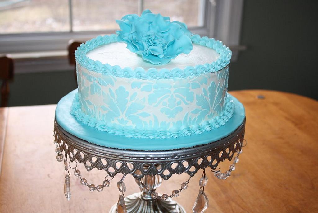 damask cake by Rostaty