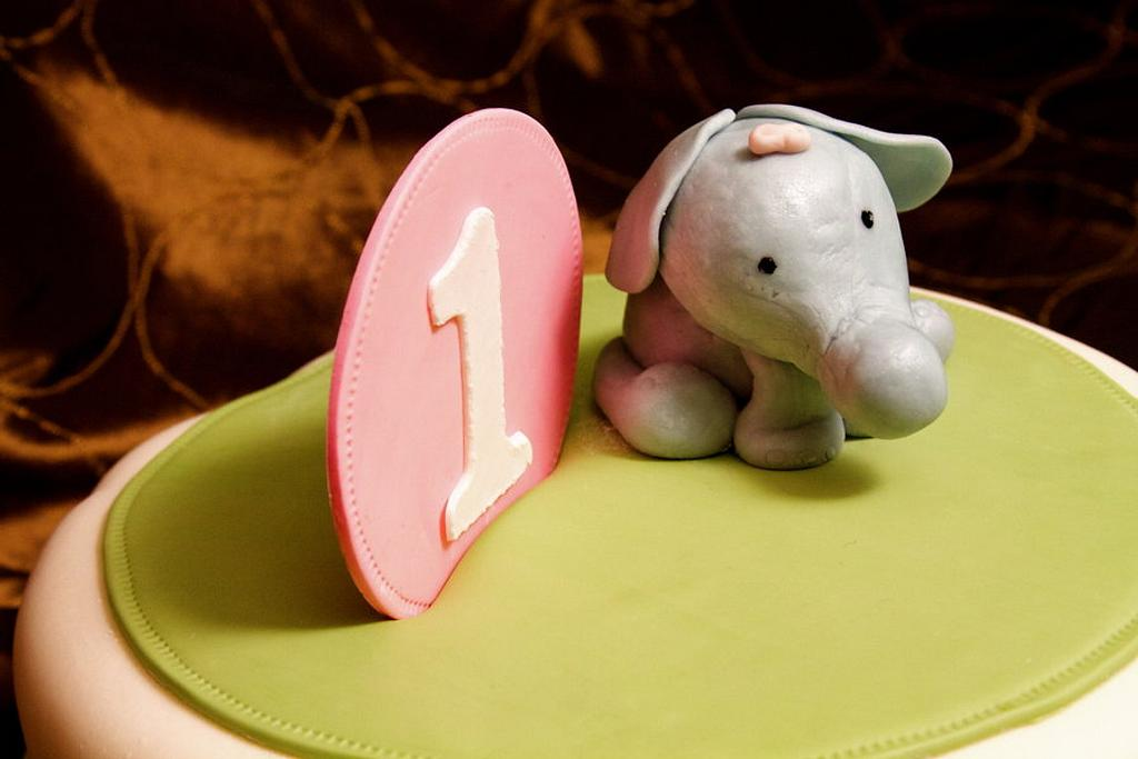Baby Elephant  by NickySignatureCakes