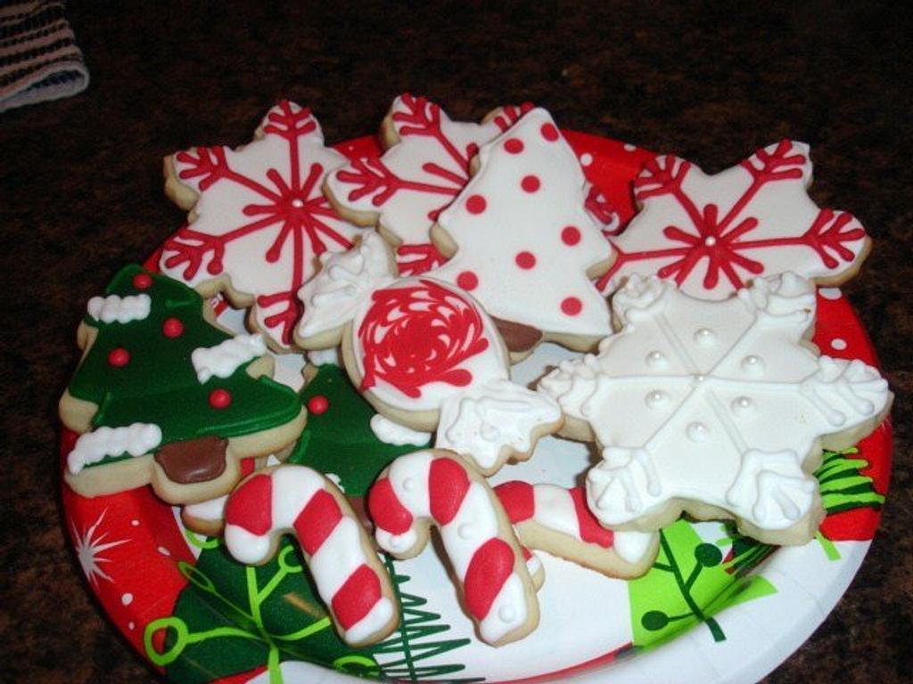 Christmas cookies by jenmac75