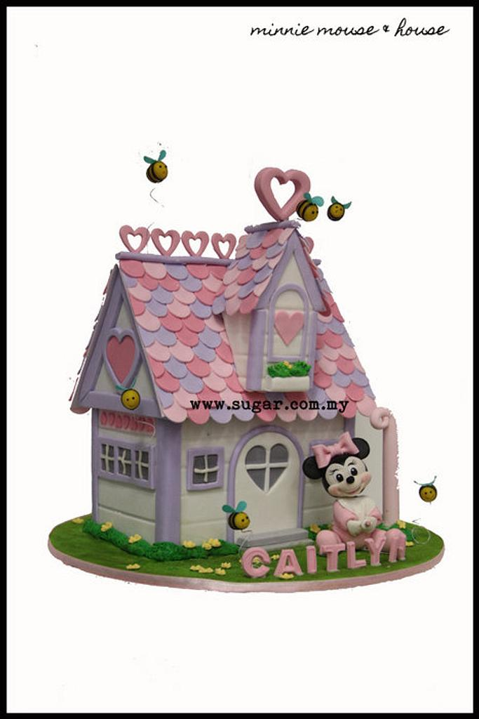 Minnie mouse & her house by weennee