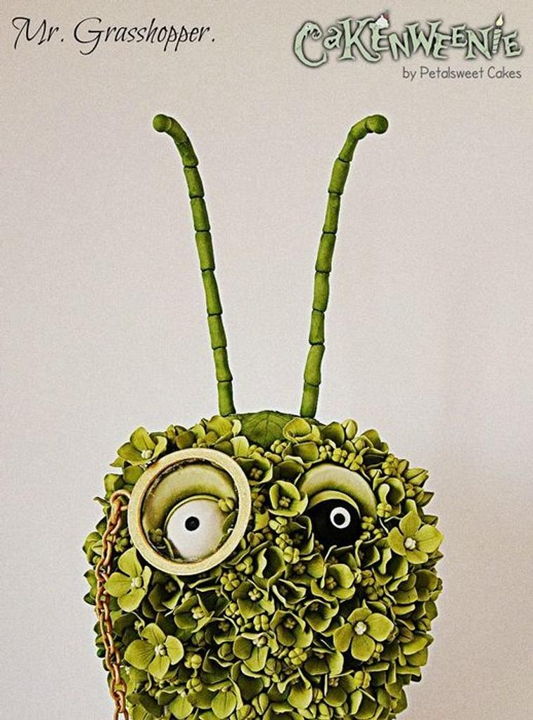 Cakenweenie Project - Mr. Grasshopper by Petalsweet