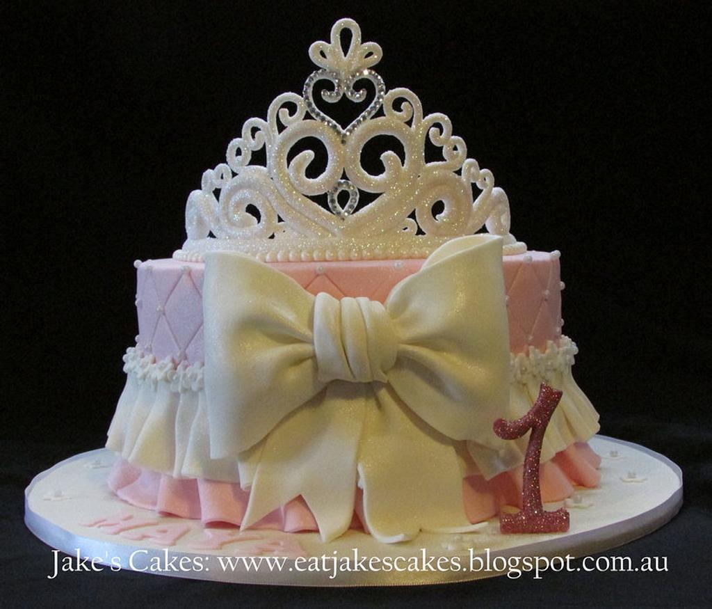 Princess Tiara Cake by Jake's Cakes