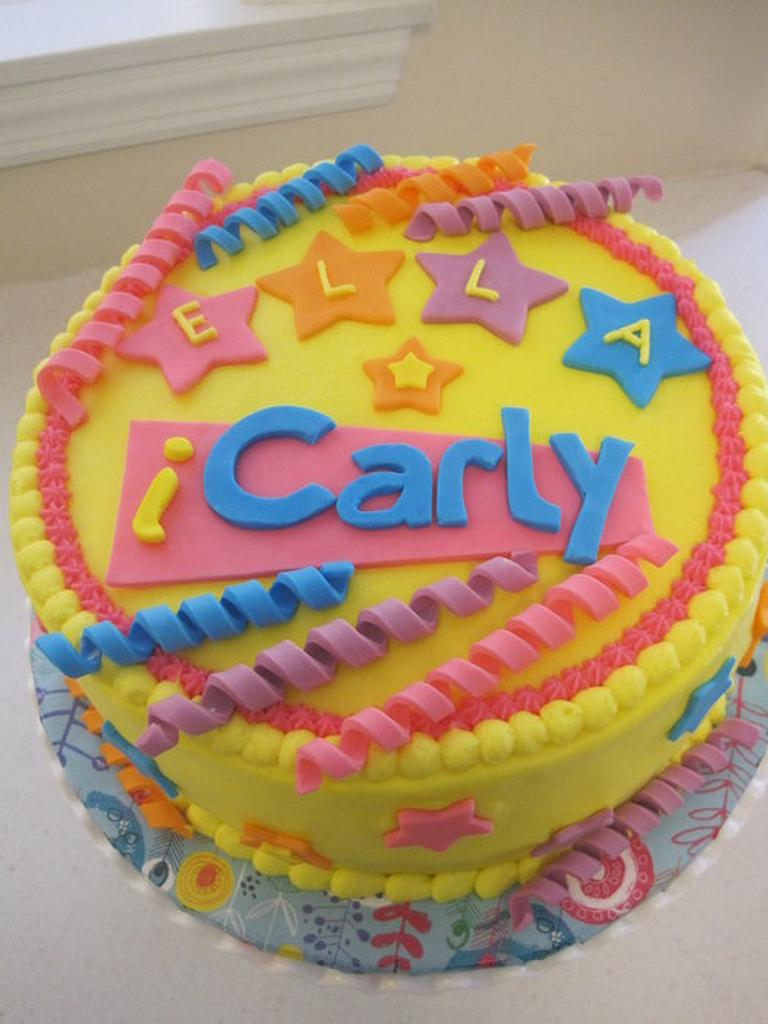 iCarly Cake by Renee Daly
