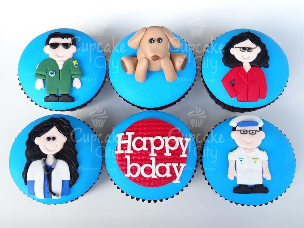 Birthday Cupcakes by CupcakeCity