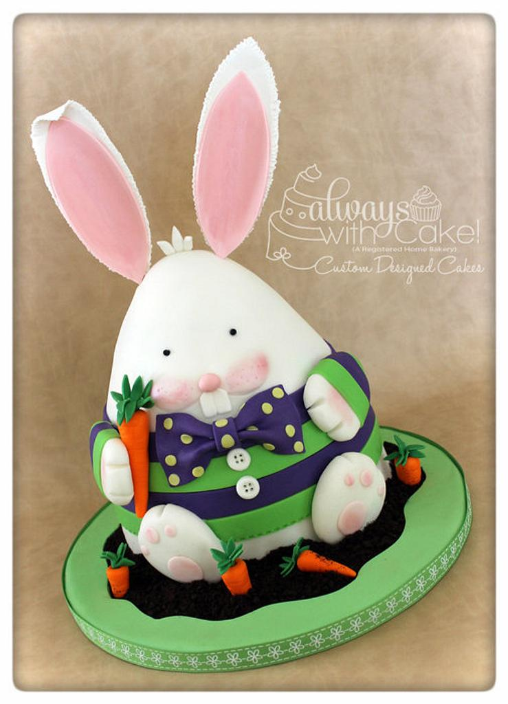 Fred the Easter Bunny by AlwaysWithCake