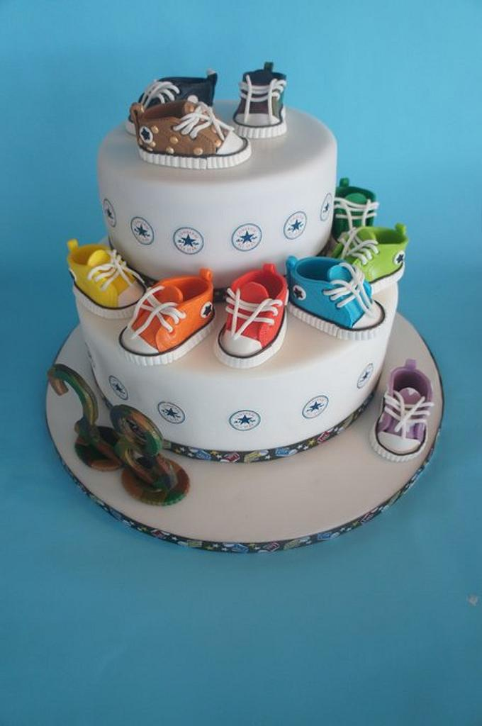 fashion all star converse cakes by Alessandra