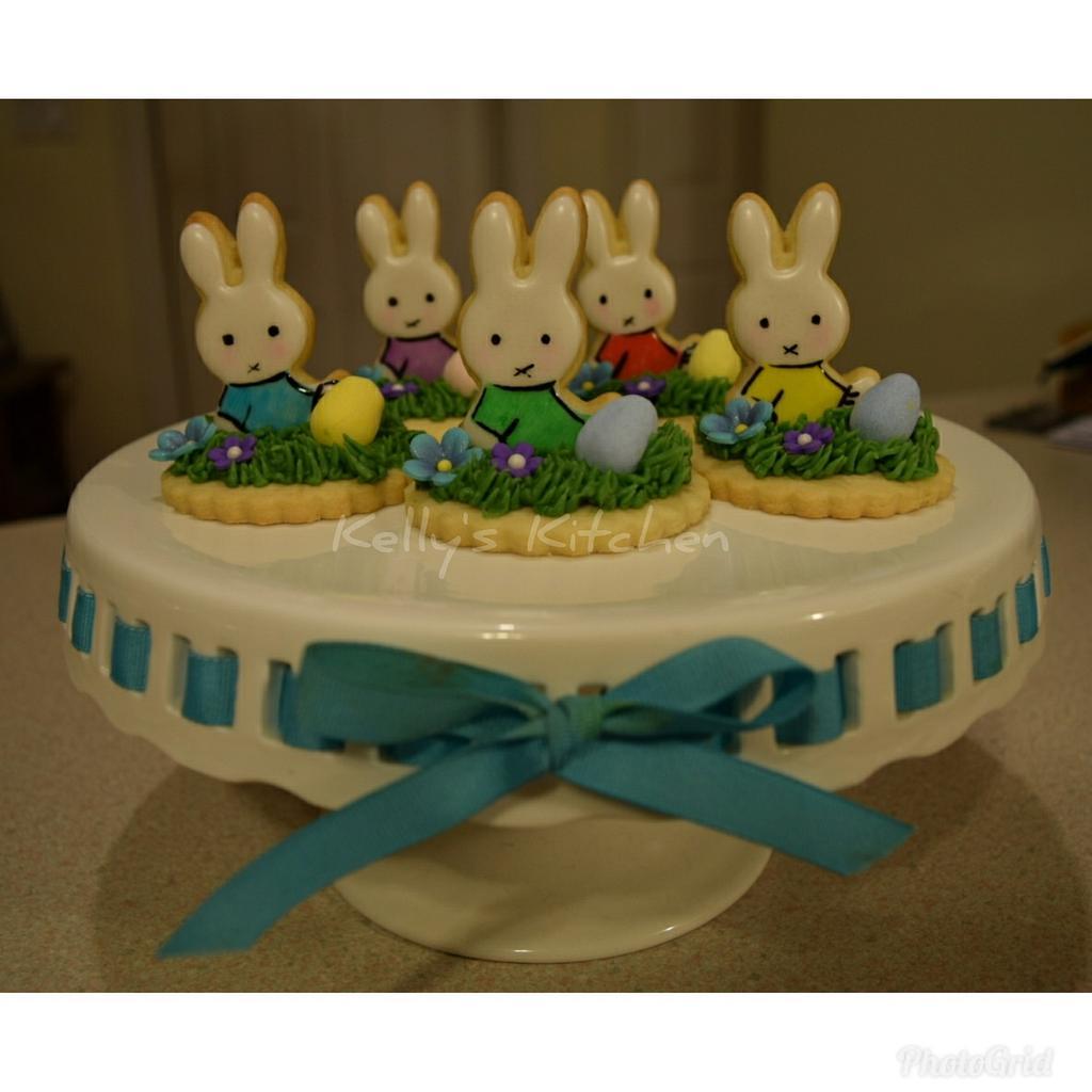 Easter cookies by Kelly Stevens