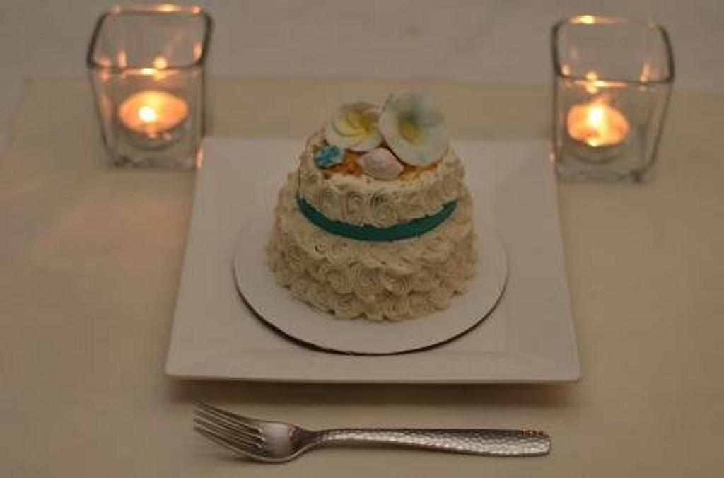 Individual Wedding Cakes by Shelly- Sweetened by Shelly