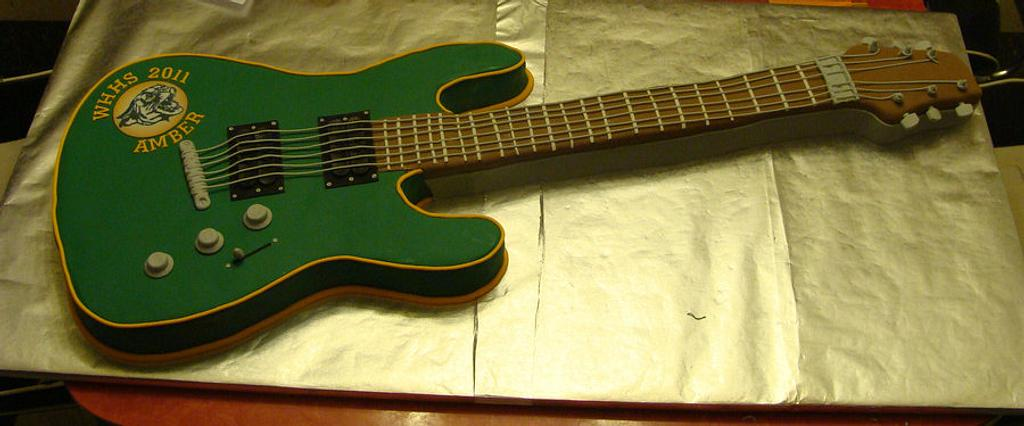 electric guitar by Naturepixie
