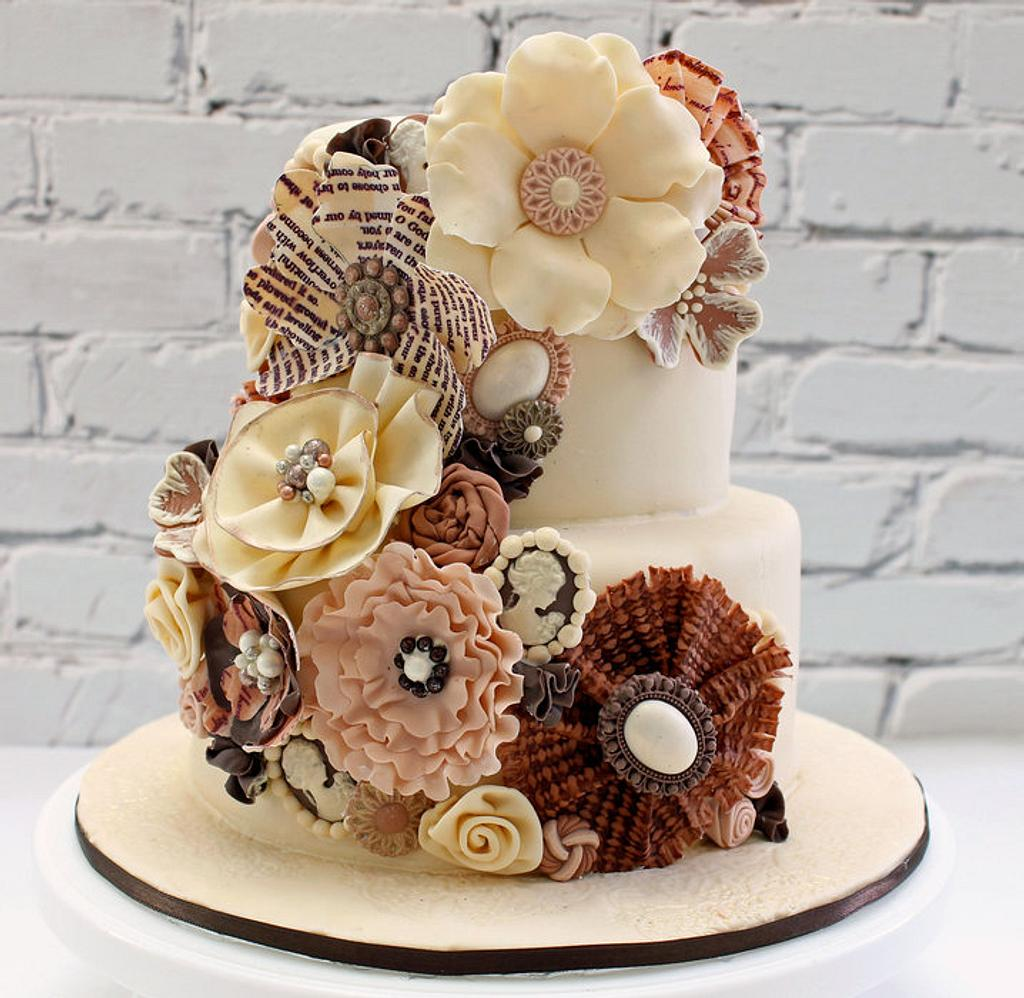 Flower Cake by Pearls and Spice