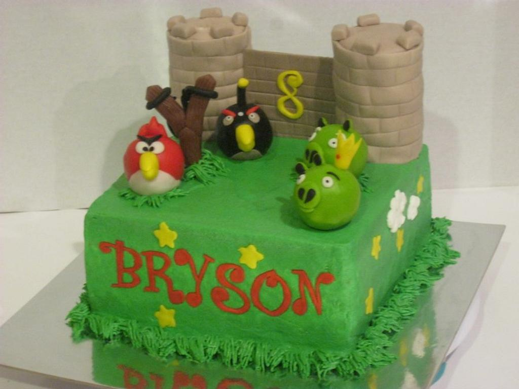 Angry Birds! by Tina