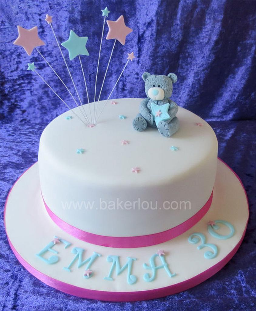 Tatty Teddy Cake by Louise