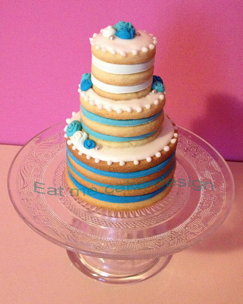 Mini Wedding cake by Moira