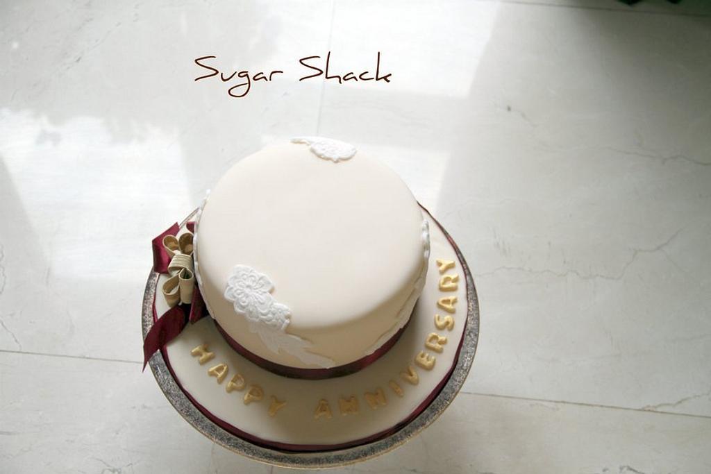 anniversary cake by shahin