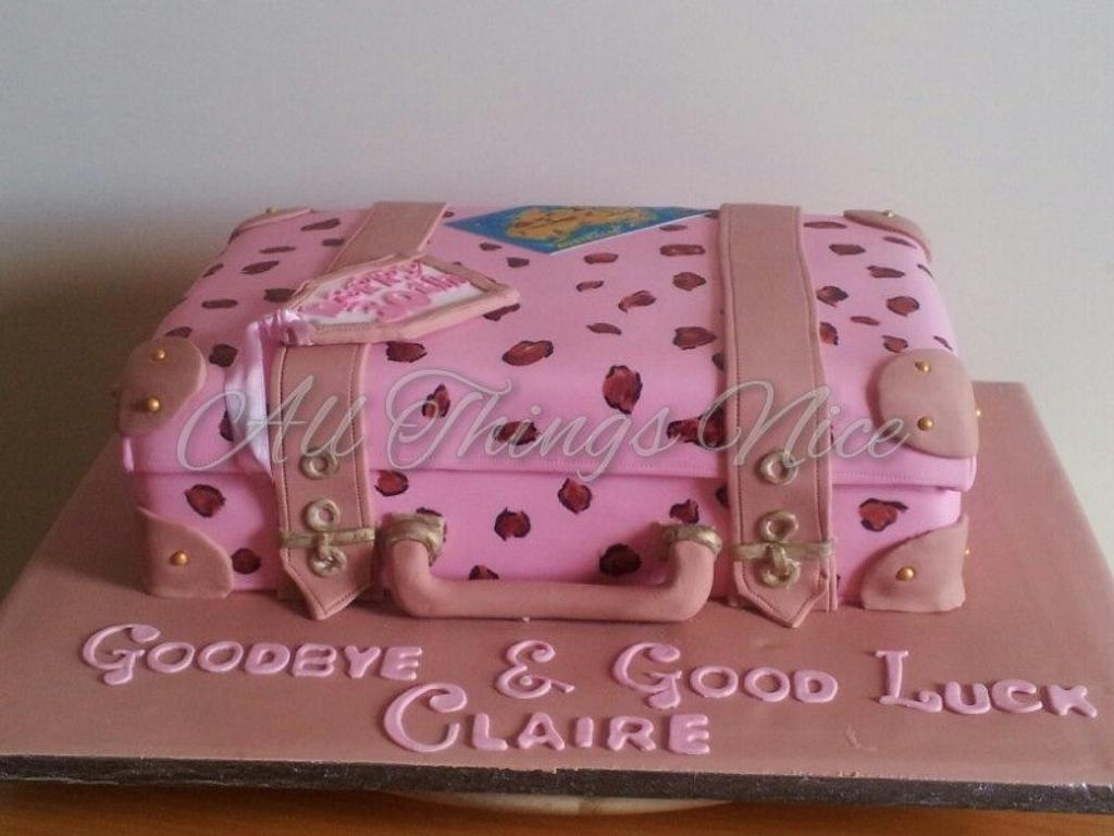 Saying goodbye with cake ;)  by All things nice
