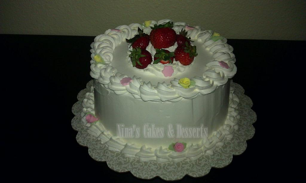 "A ""Just Because"" cake by Annette Colon"