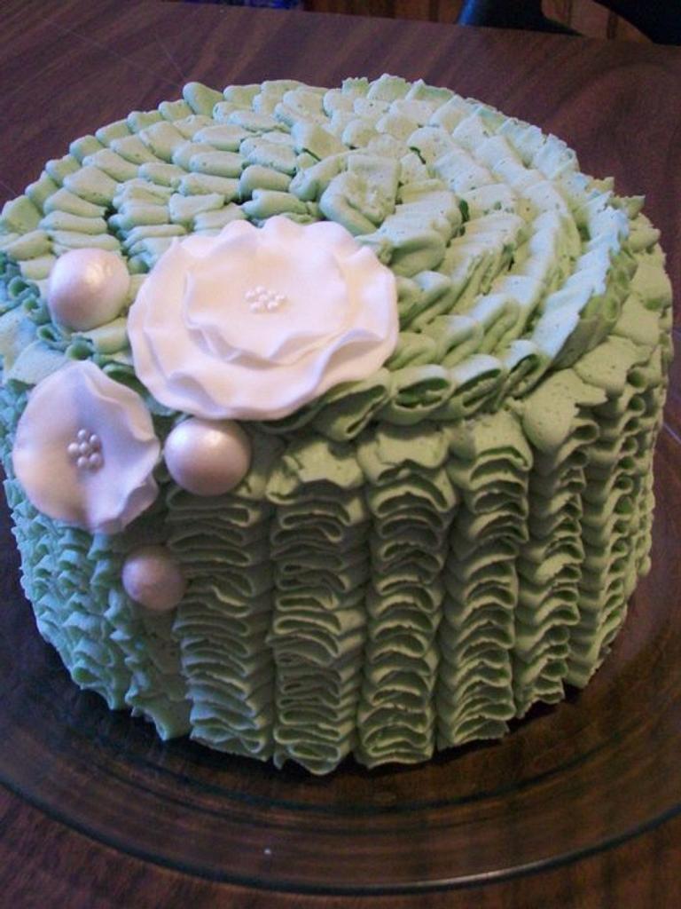 Ruffle Cake by Heather