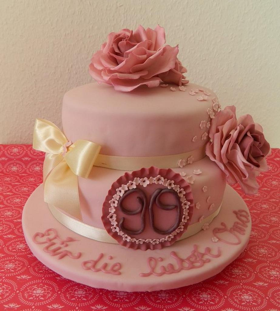 Grandma's 90th birthday by Anne