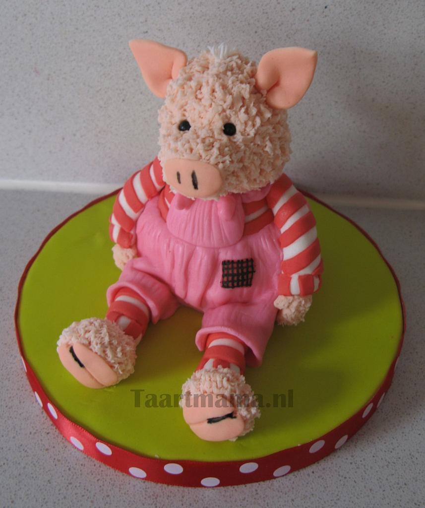 Stuffed pig by Taartmama