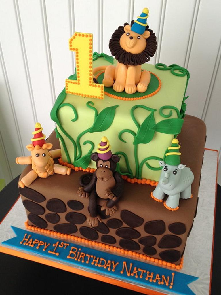 Jungle Birthday by Bianca