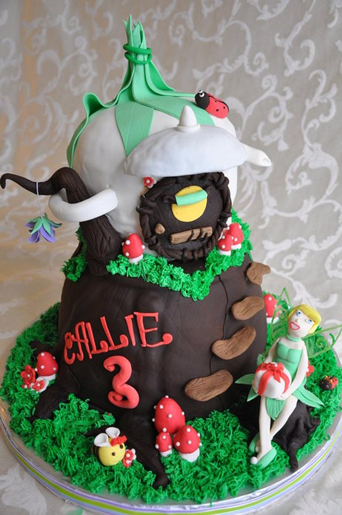 Tinkerbell cake  by cakeImake