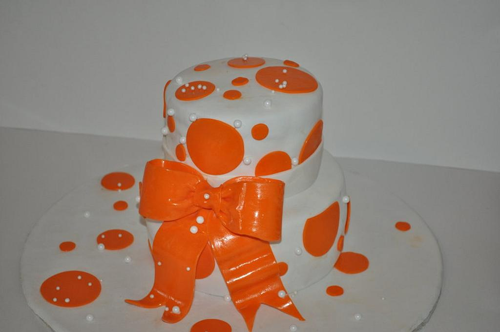 Orange dots by RaqGen's SweetLane