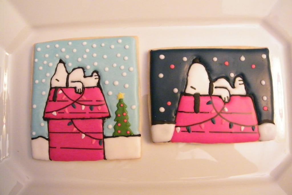 Charlie Brown Christmas - Vintage Snoopy by Alicia