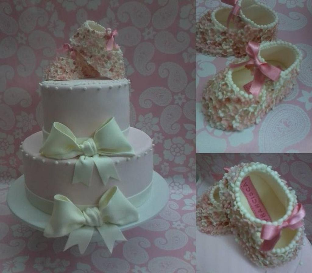 Baptism cake by Projectodoce
