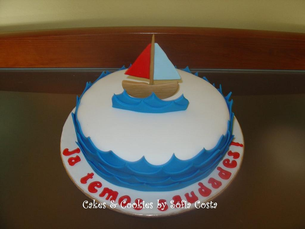 a sailing boat by Sofia Costa (Cakes & Cookies by Sofia Costa)