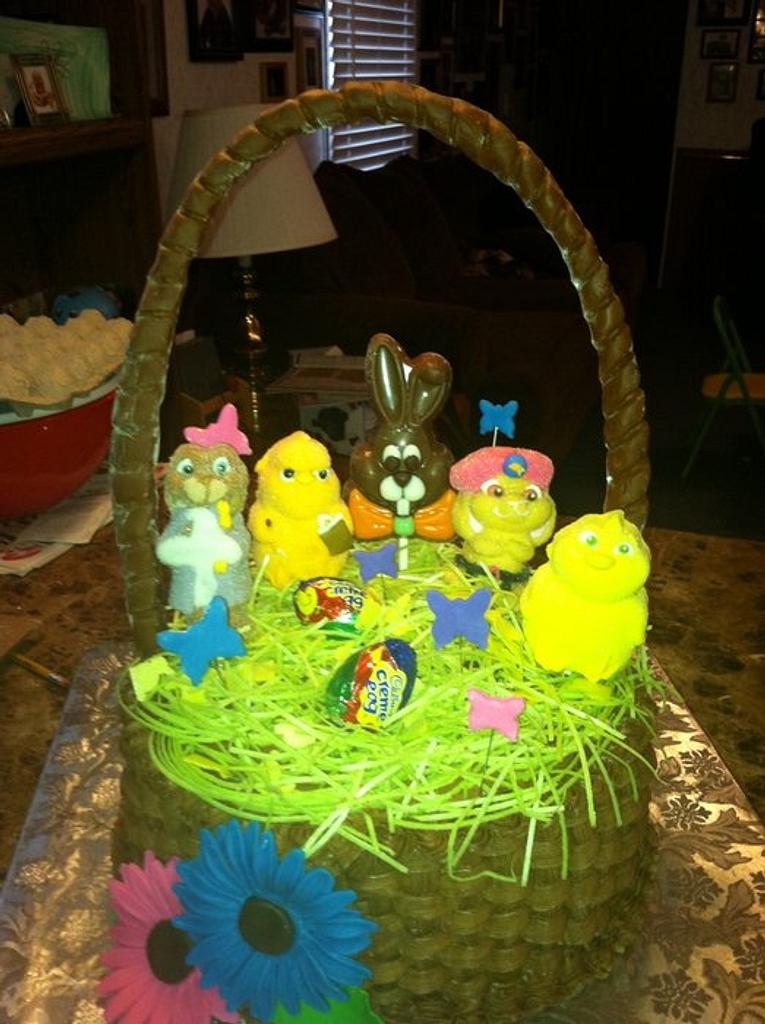 Easter Basket by TastyMemoriesCakes