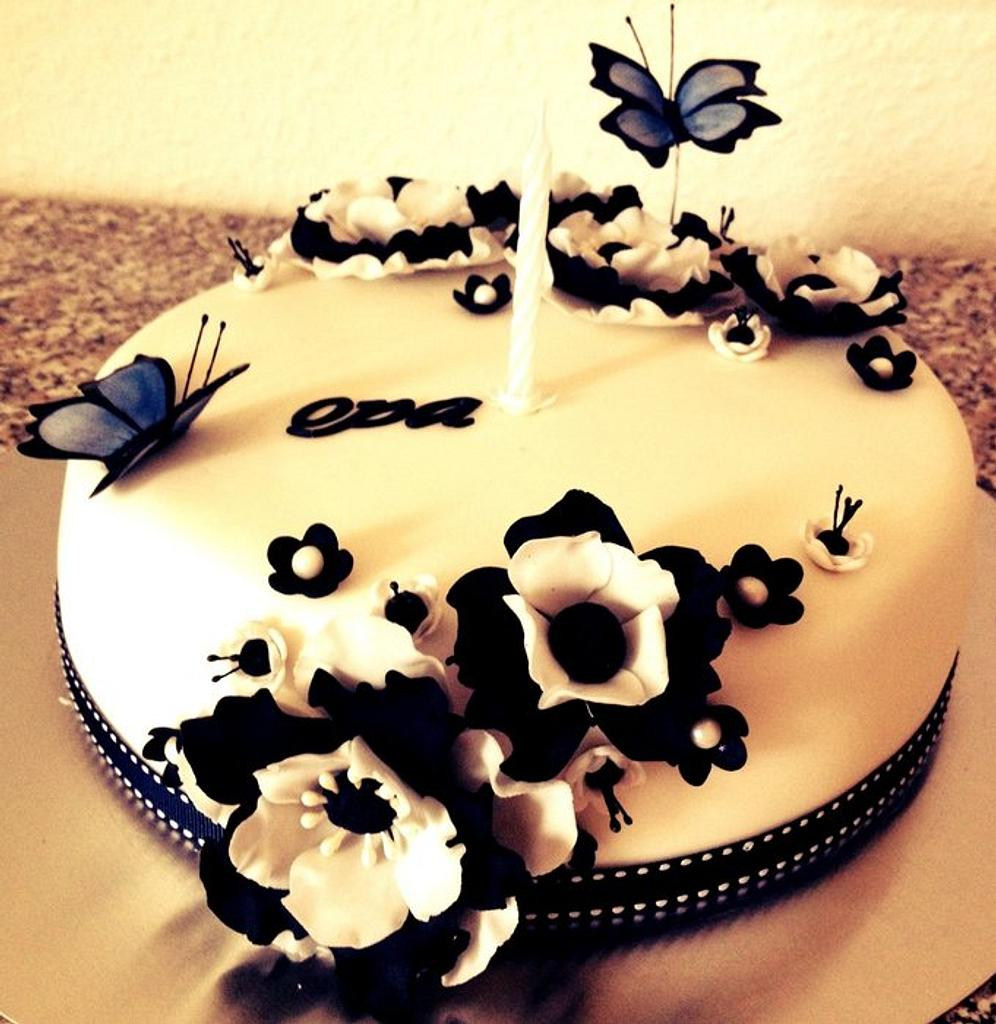 Opas birthday cake by Maxine Kristi Morris