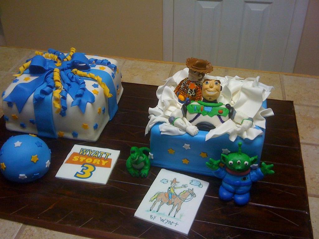 Toy story Birthday cake by Tetyana