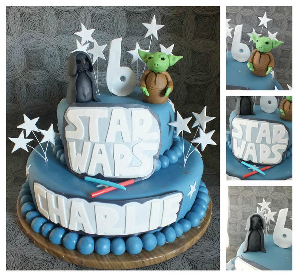 star wars cake by jennie