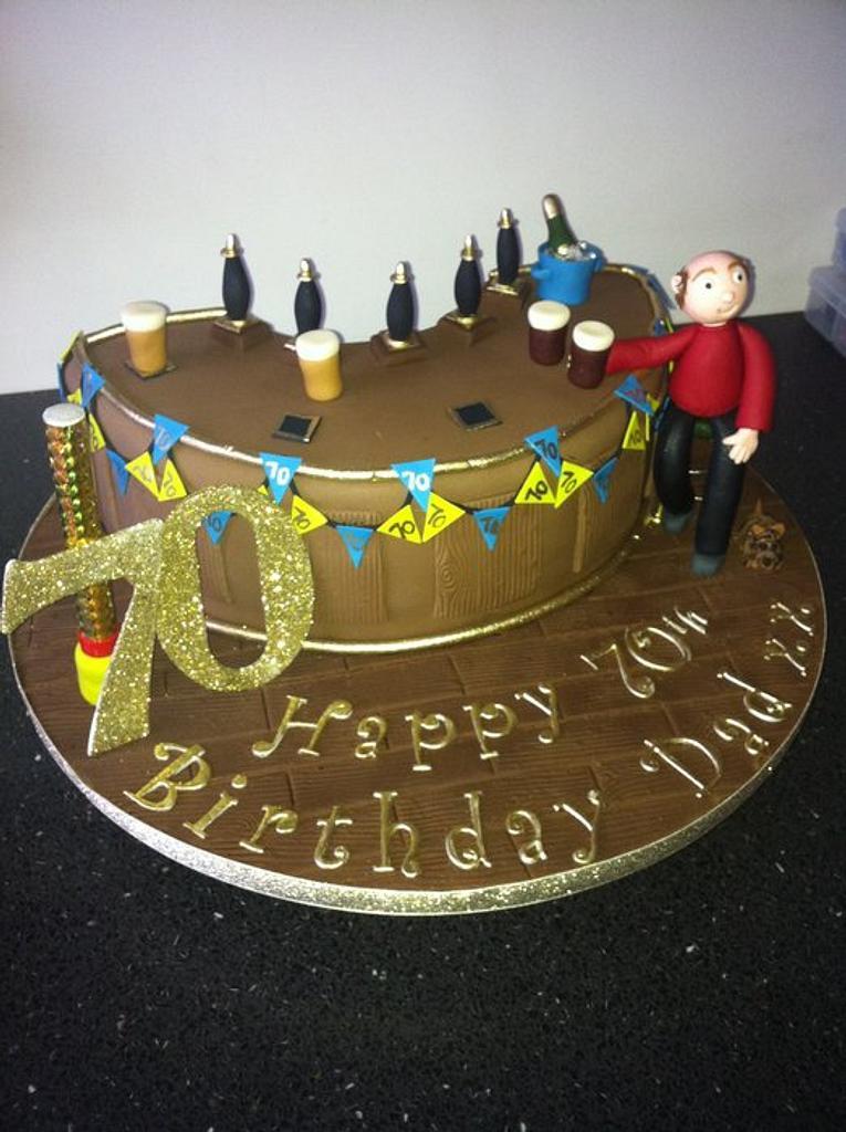 Bar cake  by Donnajanecakes