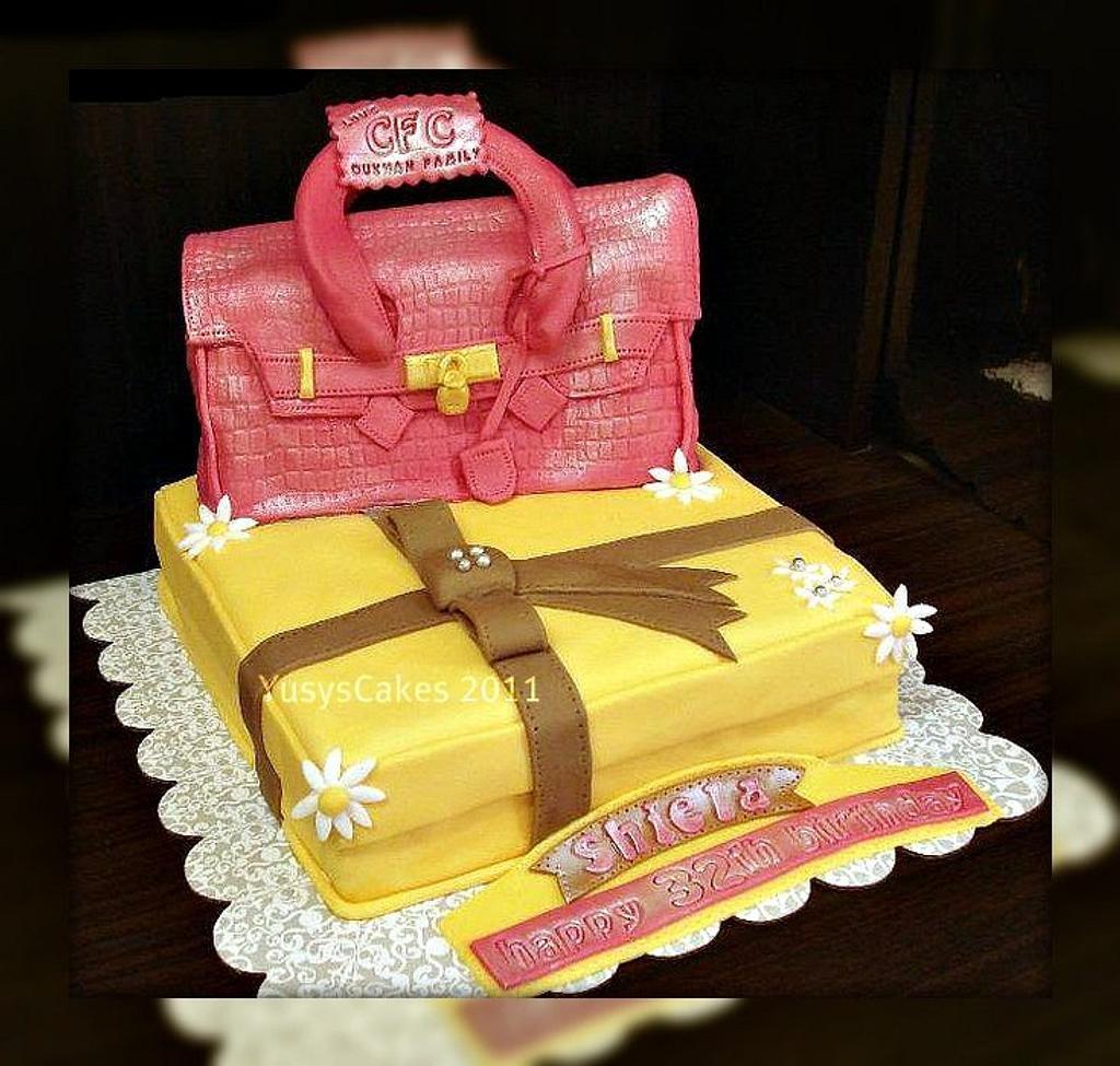 Hermes Bag Cake by Yusy Sriwindawati