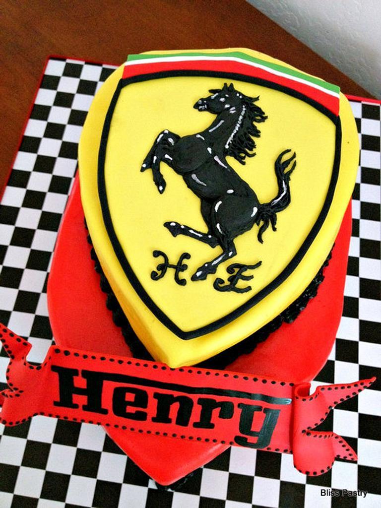 Ferrari Birthday! by Bliss Pastry