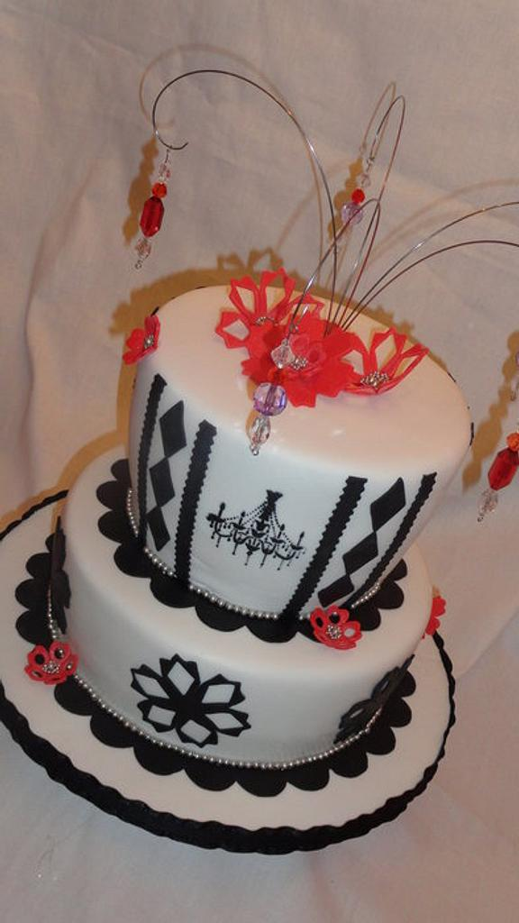 Black and white birthday by Sweet Compositions