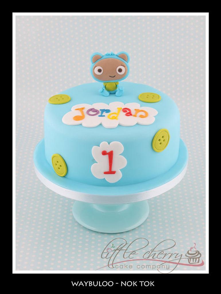 Waybuloo Nok Tok Cake by Little Cherry