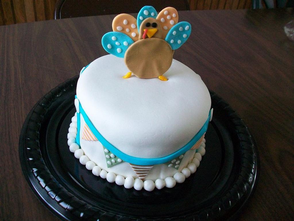 Turkey cake by Heather
