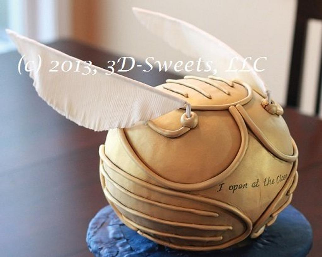 Golden Snitch by 3DSweets
