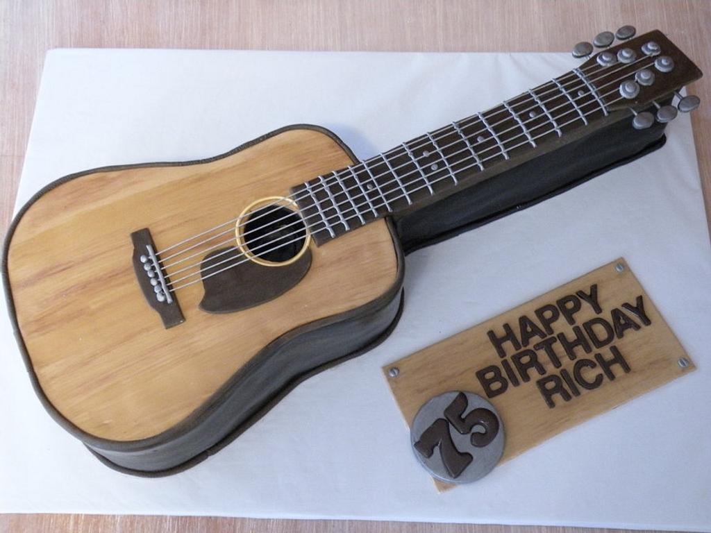 acoustic guitar by Dani Johnson