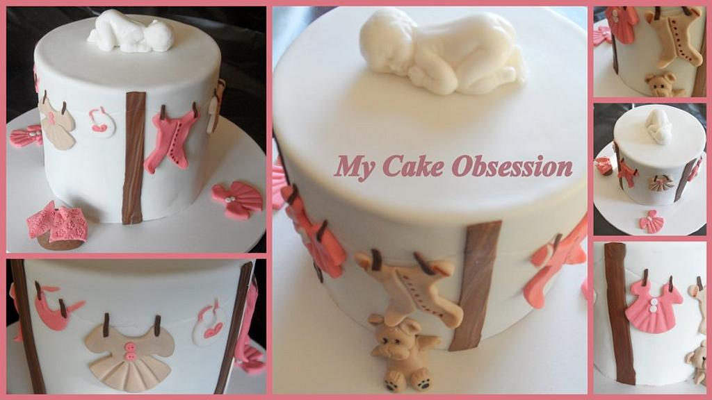 Baby Shower cake by My Cake Obsession