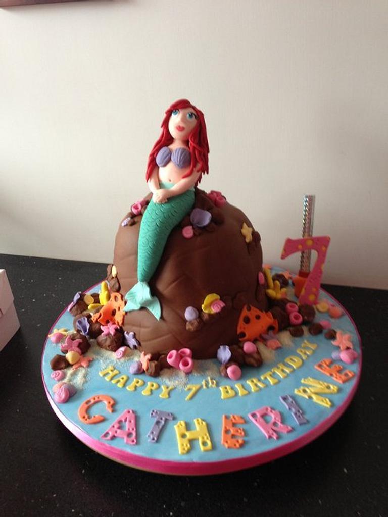 ariel little mermaid by Donnajanecakes